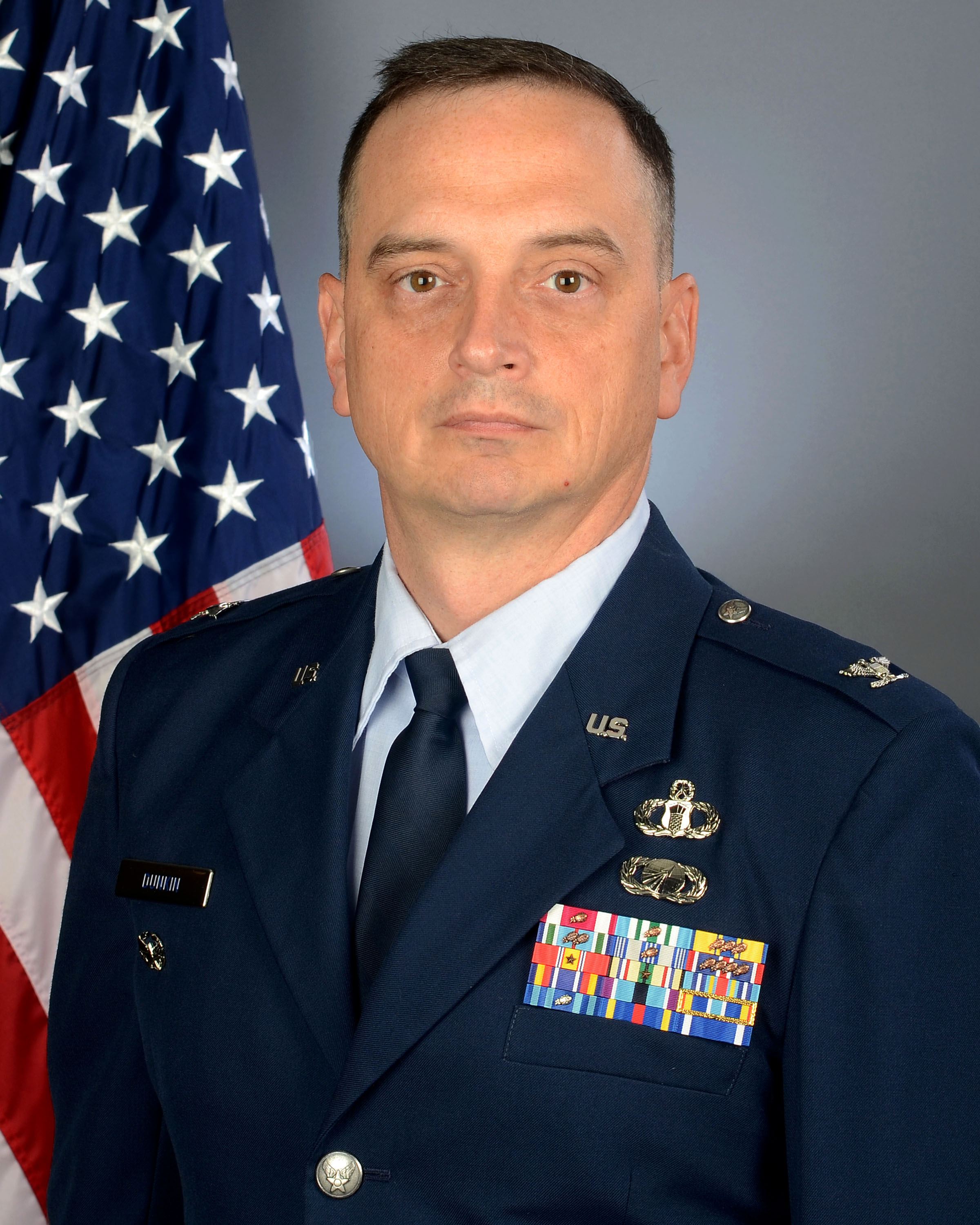 Colonel Michael Dunkin, 169th Fighter Wing vice commander