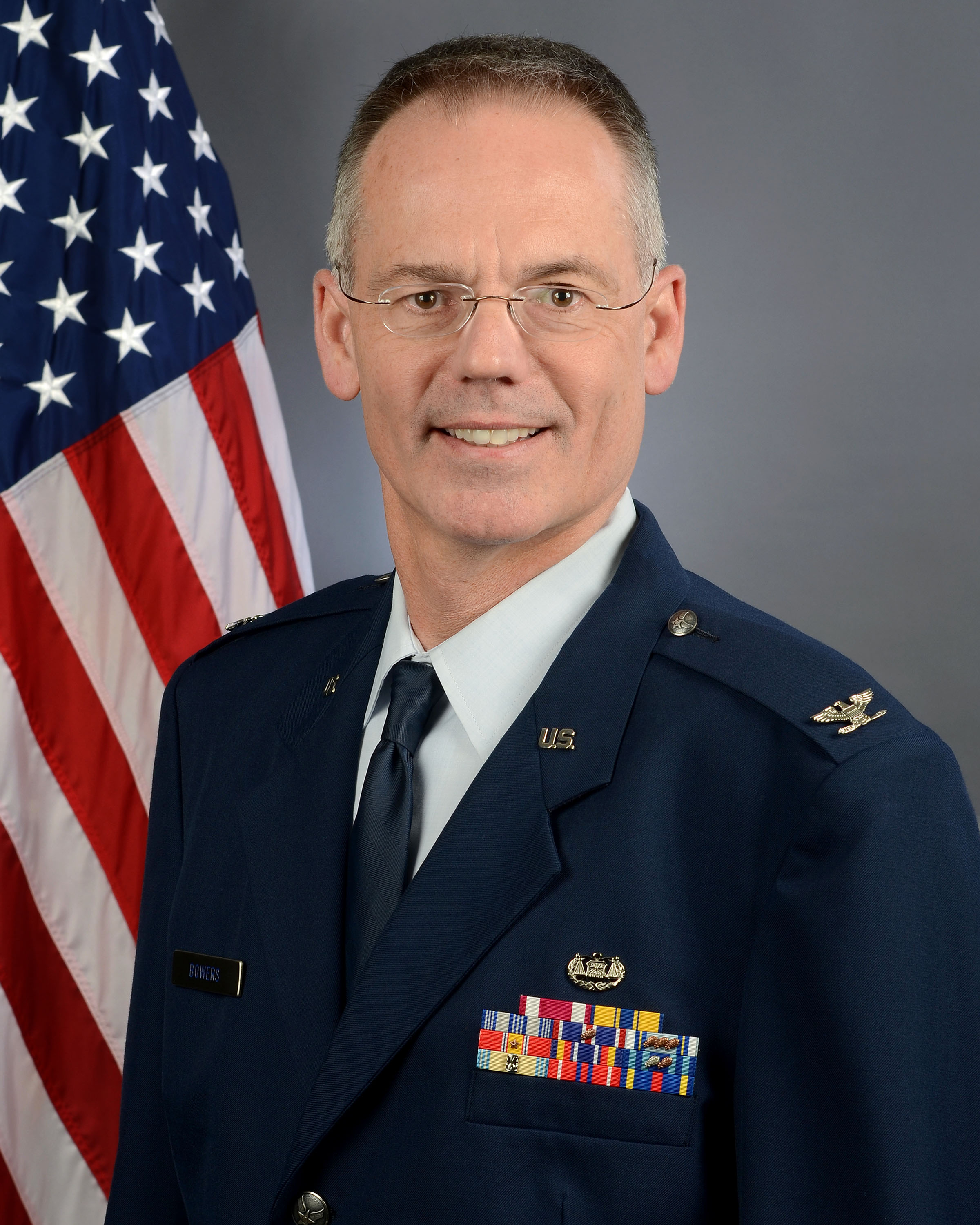 Colonel Karl Bowers, 169th Fighter Wing vice commander