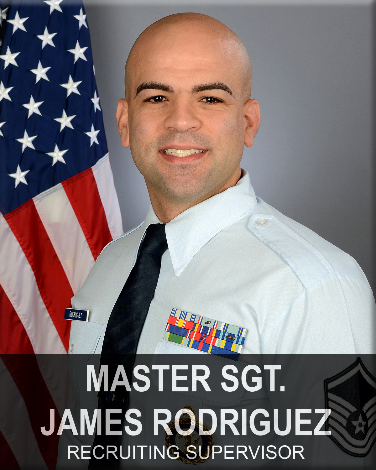 Master Sergeant James Rodriguez, South Carolina Air National Guard recruiting office supervisor