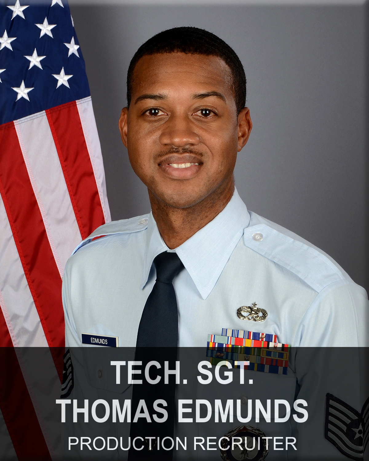 Technical Sergeant Thomas Edmunds, South Carolina Air National Guard recruiter