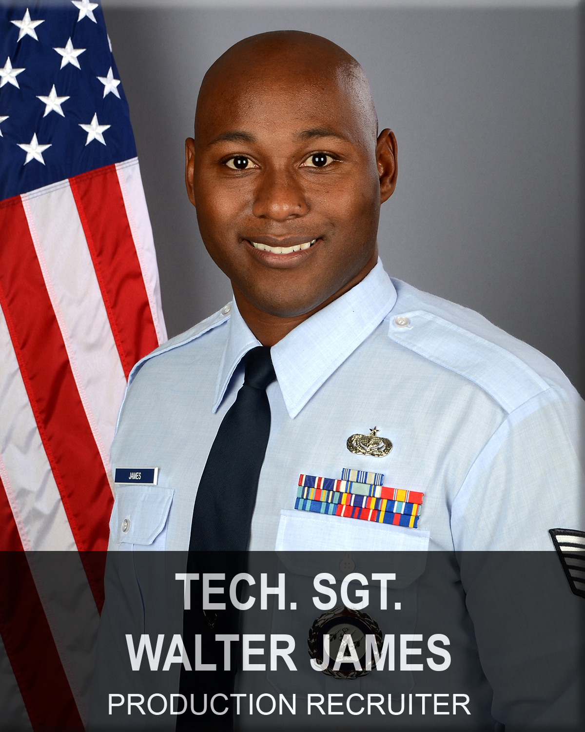 Technical Sergeant Walter James, South Carolina Air National Guard recruiter