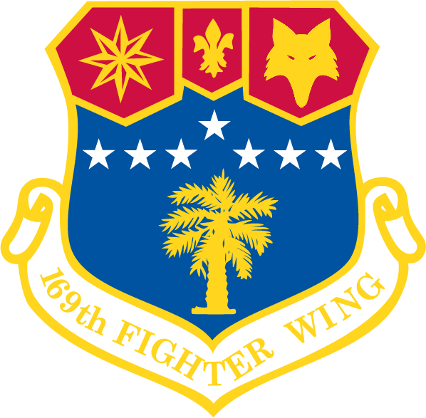 169th Fighter Wing emblem patch